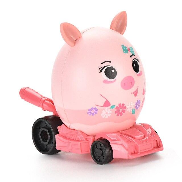 креативная головоломка в виде яйца сборе автомобиль для детей фотография