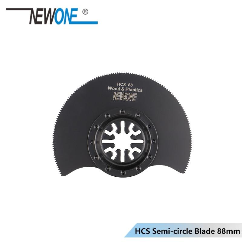 NEWONE 88 мм HCS/HSS Flush/плоский сегментный пильный диск полукруговое лезвие для Makita,AEG,Fein,Dremel многоосциллирующие электроинструменты