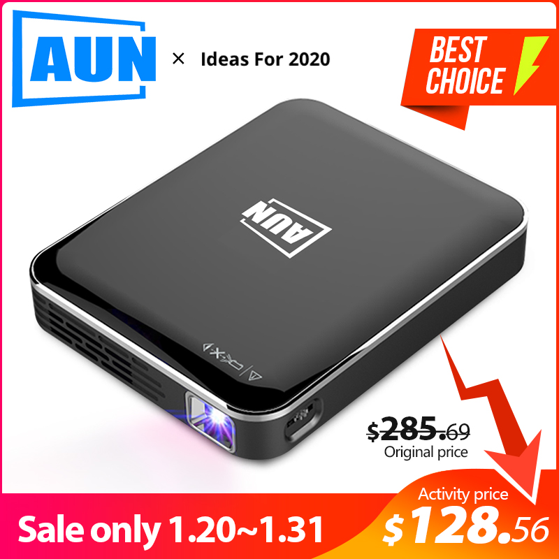 AUN MINI Projector X3, Android/IOS Phone Screen Mirroring, Multimedia system, Portable projector for 1080P Home Cinema,3D beamer on AliExpress - 11.11_Double 11_Singles' Day