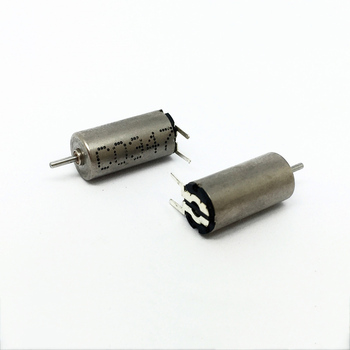 Pin Type 612 Coreless Motor DC 1.5-3.7V Micro Mini 6*12mm Hollow Cup High Speed Shaft Diameter 0.8 Mm for Small Toy Car Models image
