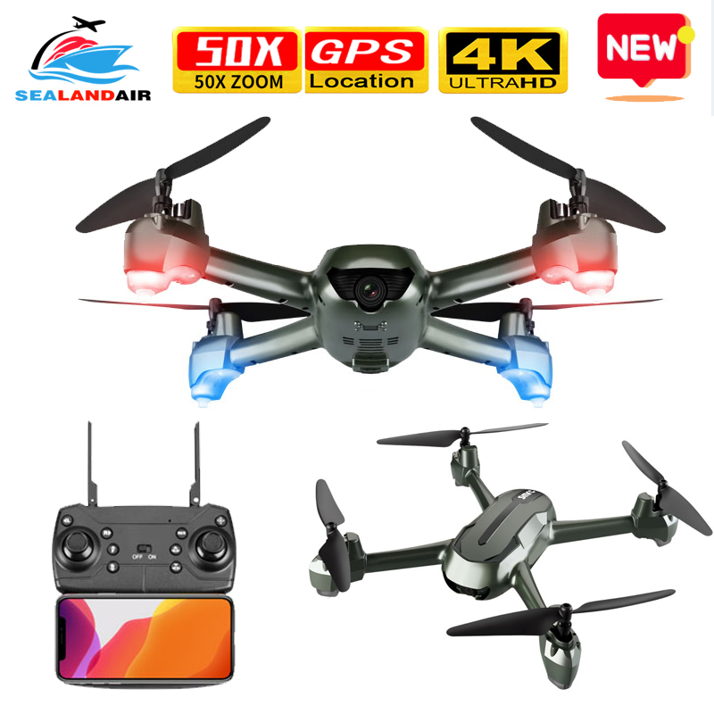 2020 GPS Drone With 4K HD Dual Camera 5G WIFI FPV Video RC Quadcopter Optical Flow Professional Drones VS E520S SG907 S167 SG106