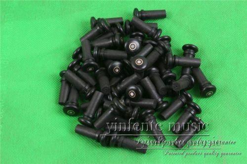 50pcs Natural Ebony Violin End Pin Full Size Violin Parts End Button Violin Parts 4/4