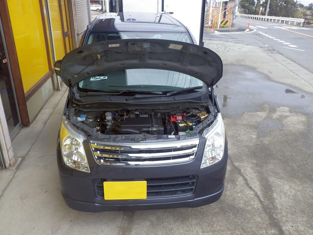 Для 2008 2009 2010 2011 2012 Suzuki Wagon R MH23S передний капот газовые стойки подъемные амортизаторы из углеродного волокна