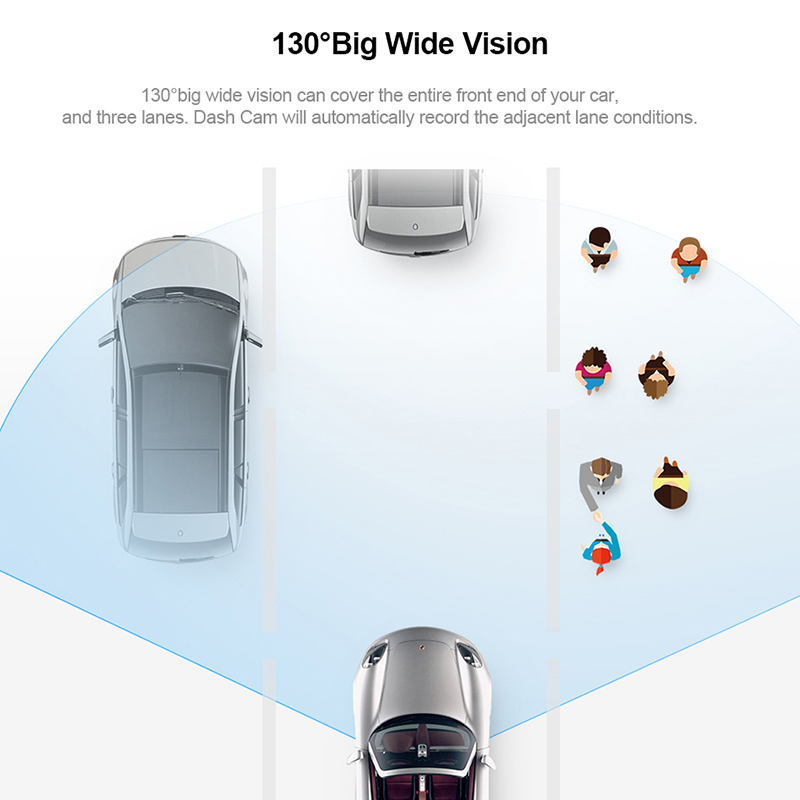 Image 5 - 70mai Dash Cam Smart Car DVR Camera Wifi 1080P HD Night Vision APP & Voice Control G sensor 130FOV Car Camera Video Recorder-in DVR/Dash Camera from Automobiles & Motorcycles
