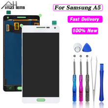 PINZHENG Screen Display LCD For Samsung Galaxy A5 LCD Display Touch Screen Digitizer Assembly A500 A500F A500FU A500H Screens v156b2 l02 lcd display screens