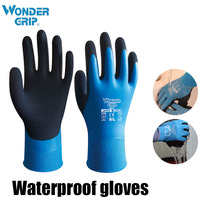 3 Pairs Hot Sale Latex work gloves waterproof and cold gloves warm work gloves