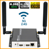 HEVC HDMI Video Audio to RTSP RTMP RTMPS M3U8 SRT Streaming Encoder Wireless H265 H.264 HD Video to IP Stream Encoder IPTV WIFI