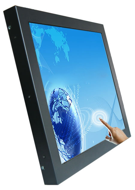 19 inch touch screen monitor 5 wire resistive touch screen lcd industriële monitor - 5
