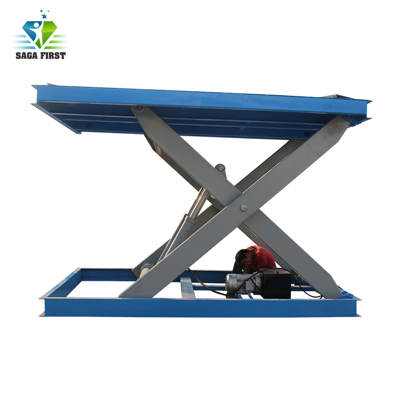 Paralleled Tandem Scissors Electric Hydraulic Scissor Lift Table Customize Available