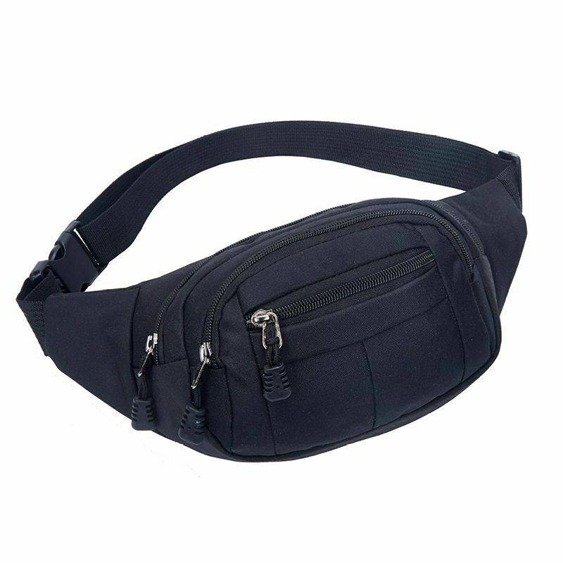 Mens Wallet  Cycling Waist Pack Belt Bag Fanny Pack Casual Travel Bags Hip Purse Sports Bag /BY