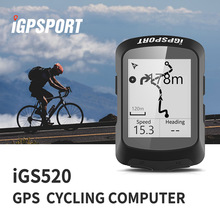 Bicycle Computer Speedometer Sensors Gps Bike Bluetooth Igpsport Igs520 Ant  IPX7 Waterproof