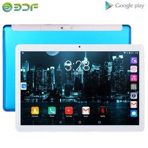 Image 3 - BDF Neue Android 4,4 tabletten pc telefon sim karte 10 Zoll 1GB + 16GB IPS LCD Quad Core 5000Mah Batterie Wifi Bluetooth Schönes Design tab