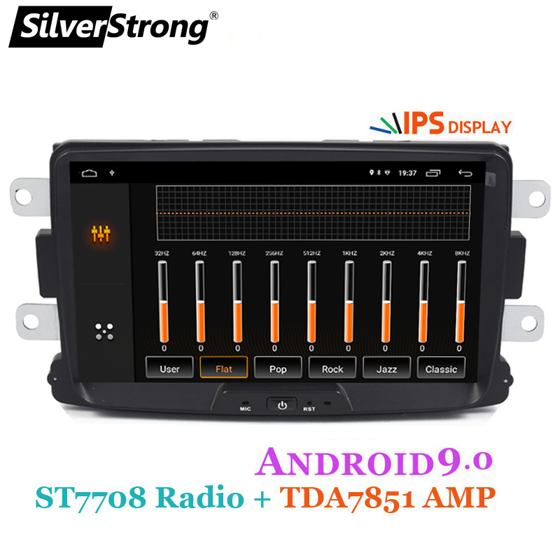 Image 5 - SilverStrong Car Multimedia player Android 9 Automotivo radio For Dacia Sandero Duster Renault Captur Lada Xray 2 Logan-in Car Multimedia Player from Automobiles & Motorcycles