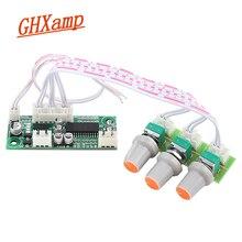 GHXAMP PT2313/TM2313 Amplificador de Control Digital, placa de Control de tonos de Audio, Mini preamplificador, Tweeter, Panel de bajos DC12V 61*26mm