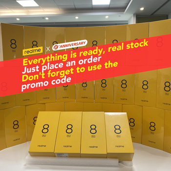 [Real Stock] realme 8 Pro Global Version 6GB/8GB 128GB 108MP Camera 50W SuperDart Charge Super AMOLED 3