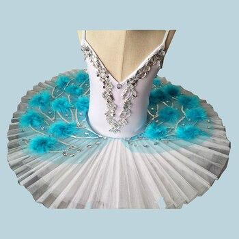 Adult Dance Camisole Ballet Skirt Swan Lake Show Serve Children Paillette Ballet Major Tutu Skirt