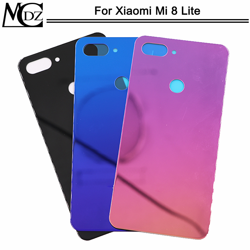 New <font><b>Mi</b></font> <font><b>8</b></font> Lite <font><b>Battery</b></font> <font><b>Cover</b></font> For <font><b>Xiaomi</b></font> <font><b>Mi</b></font> <font><b>8</b></font> lite Back <font><b>Cover</b></font> Rear Glass Door Panel Housing Case image