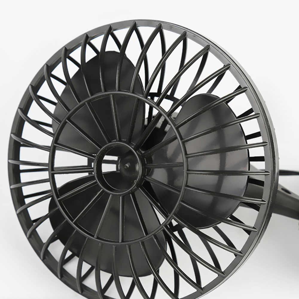 DJSona 2019 Neue 12V Elektrische Auto Auto Fan Klimaanlage Fahrzeug Kühlung Adsorption Einstellbar Fan Heißer Verkauf
