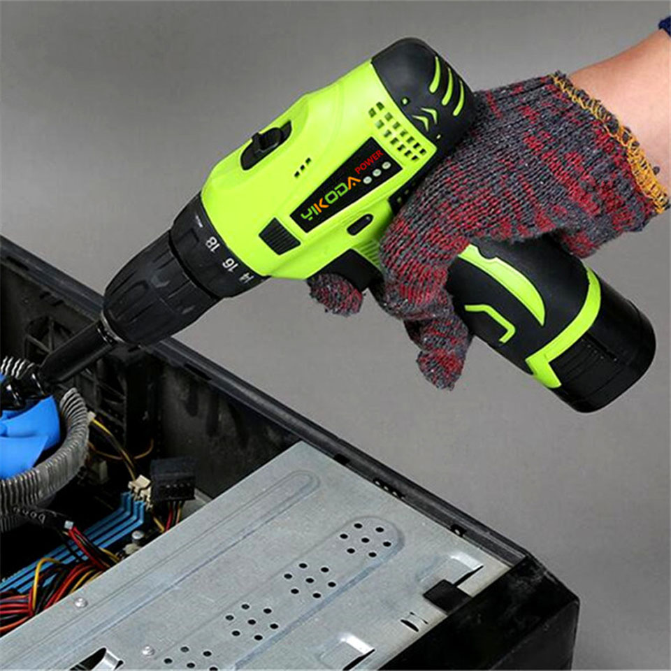 16.8V Huishoudelijke hand-accuboormachine Dubbele snelheid - Elektrisch gereedschap - Foto 3