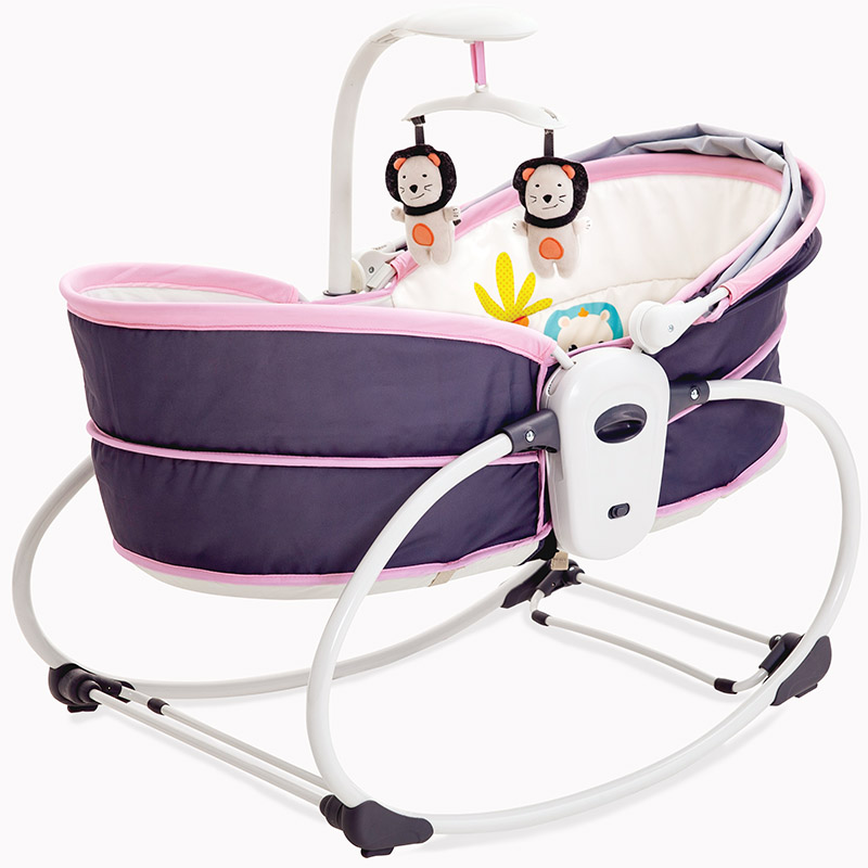 0831  Electric Baby Infant Cradle Vibration Infant Bed In Bed Rocking Chair Automatic Pacify Chair Cradle Box Loungers Basket