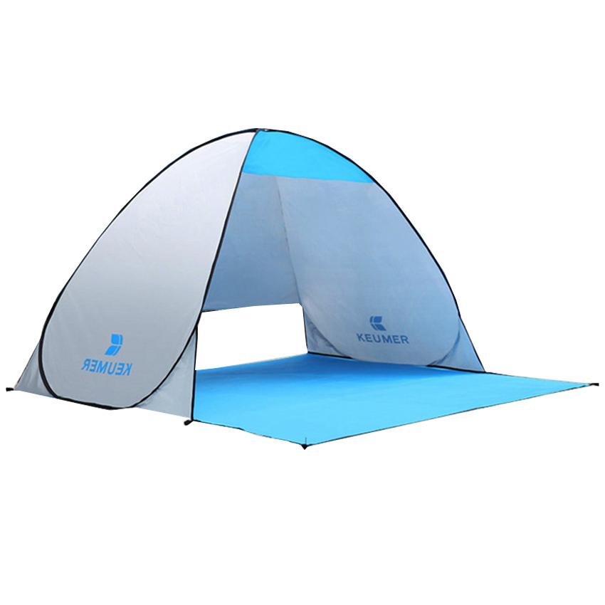 Camping Beach Tent Instant Pop Up Open Anti UV Awning Tents Outdoor Sunshelter