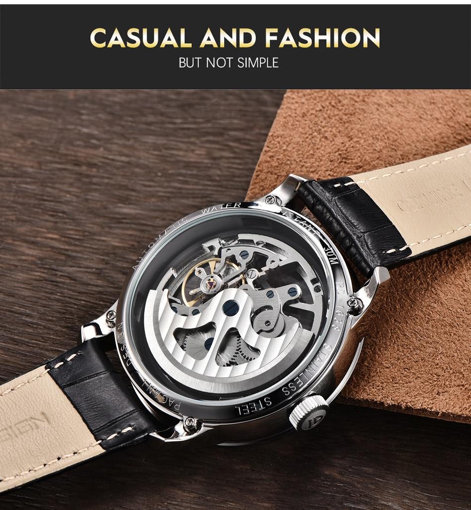 luxo relógio novo relogio masculino
