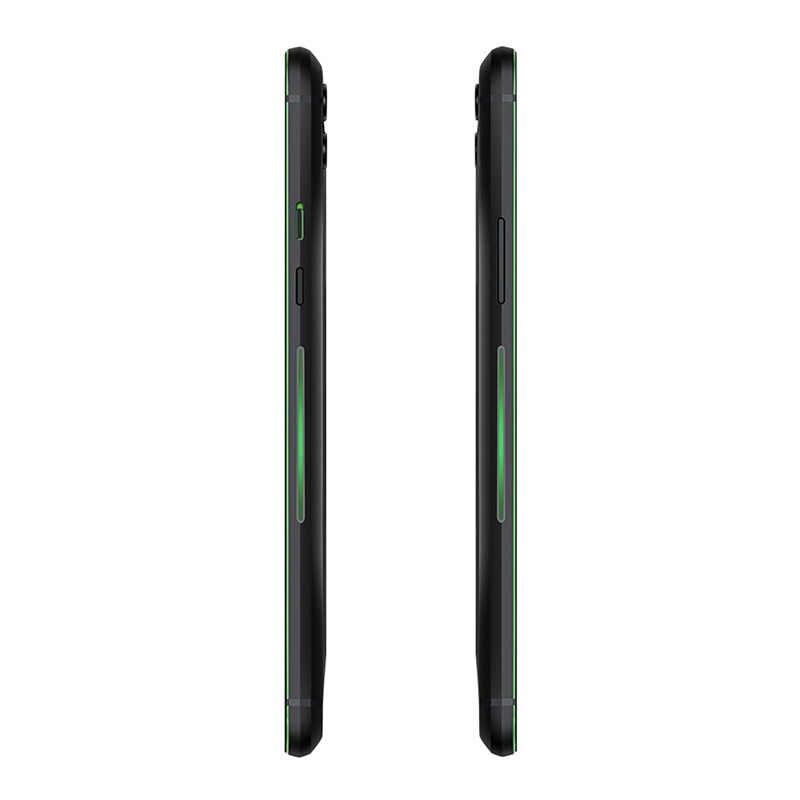 هاتف شاومي بلاك القرش 2 برو ذاكرة رام 12 جيجا بايت ذاكرة داخلية 512 جيجا بايت هاتف ذكي للألعاب شاشة كاملة 6.39 بوصة سنابدراجون 855 Plus ثماني النواة هاتف خلوي