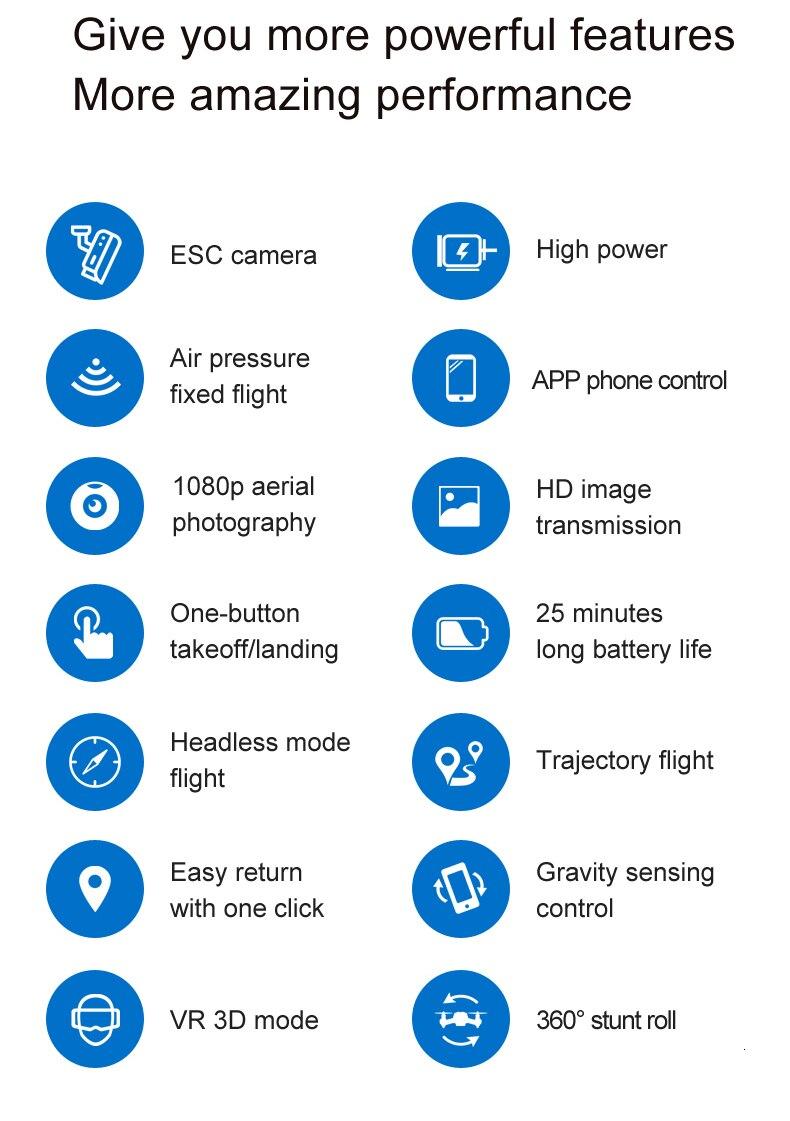 4K Camera Rotation Waterproof Professional S32T Drone