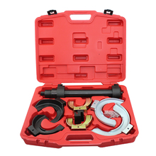TULANAUTO MacPherson Interchangeable Fork Strut Coil Spring Compressor Kit Extractor Set For BMW Mercedes + More