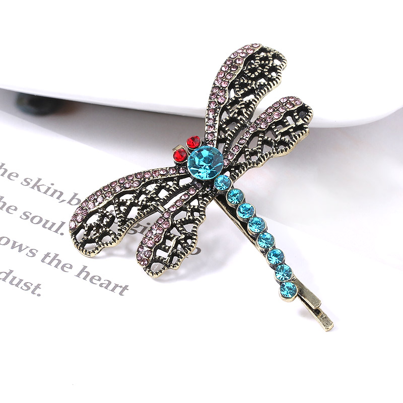 Coraline Dragonfly Hair Clip Hairpin Bobbypin Necklace Filigree Lace Pattern Metal Hairpins For Women Christmas Jewelry Aliexpress