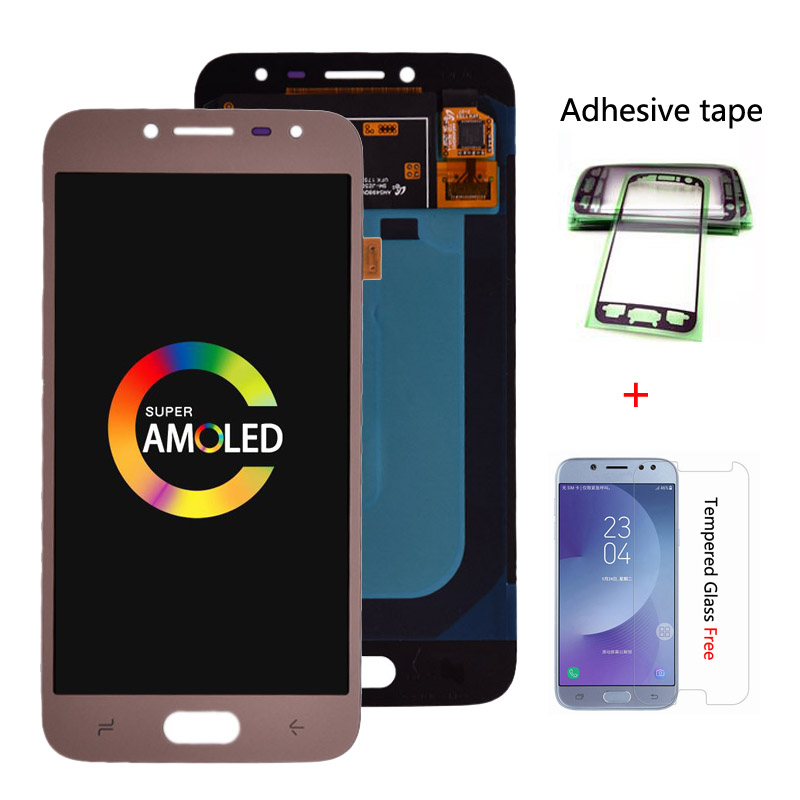 Original J250 Amoled LCD Für <font><b>Samsung</b></font> <font><b>Galaxy</b></font> <font><b>J2</b></font> <font><b>pro</b></font> <font><b>2018</b></font> J250 <font><b>J250F</b></font> LCD Display touchscreen digitizer montage image