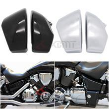 Motorrad Teile ABS Kunststoff Batterie Side Abdeckung Für Honda VTX 1800 VTX1800 R/S/N/F/T 2002 2003 2004 2005 2006 2007 2008