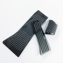 цена на For BMW X5 X6 E70 E71 E72 F15 F16 2007-2018 Car Accelerator Brake Foot Rest Pedal Pads AT Car Styling Accessories Aluminum Alloy