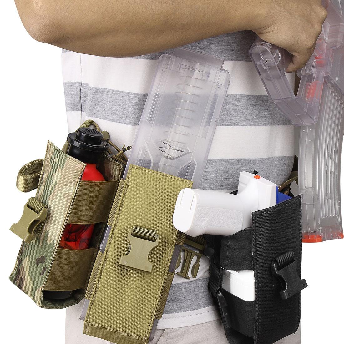MODIKER Cloth 40 Round Magazine Pouch Magazine Holder For Worker Hurricane Blaster - Camouflage