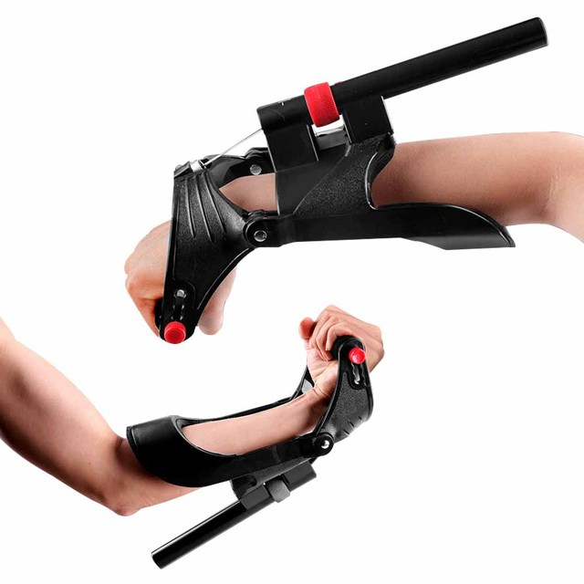 DMAR Adjustable Wrist Device Eco-friendly Engineering Forearm Hand Trainer for Arm Muscle Strength Gripper Exerciser Sport Home 6