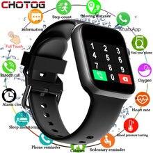 T500 relógio inteligente mulher chamada bluetooth rastreador de fitness freqüência cardíaca toque completo smartwatch controle música relógio esporte iwo