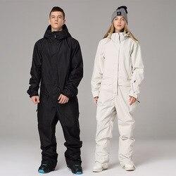 2020 imperméable à capuche hommes ski combinaisons Sport femmes neige salopette hiver extérieur femme snowboard vêtements homme neige costumes