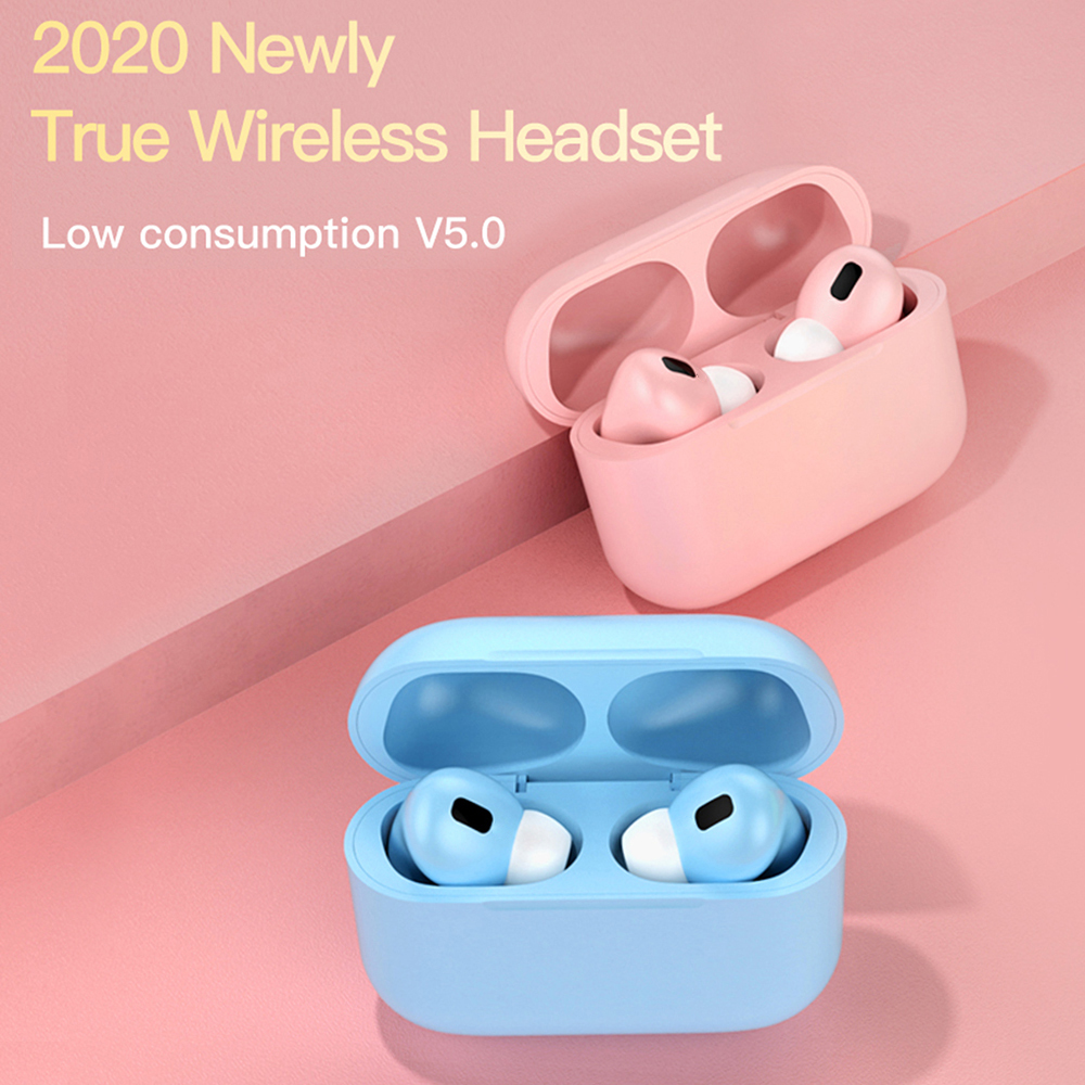 New Auriculares Macaron Air Pro <font><b>TWS</b></font> Wireless Headphones Bluetooth Earphone Headset Smart Touch Air Earbuds Blackpods Pro 3 <font><b>Fone</b></font> image