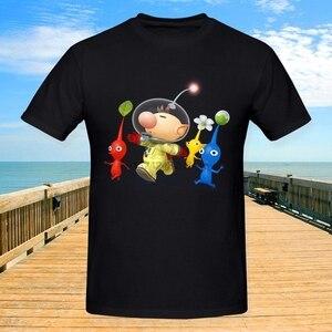 Men's Captain Olimar And Pikmin Super Smash Bros T-shirt(China)