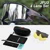 Acexpnm polarizado mountain bike ciclismo óculos de ciclismo esportes ao ar livre óculos uv400 4 lente ciclismo óculos de sol das mulheres dos homens 31