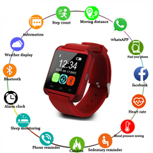 U8 Smart Watch Pedometer Smartwatch Sleep Monitor Call Alarm Reminder Bluetooth