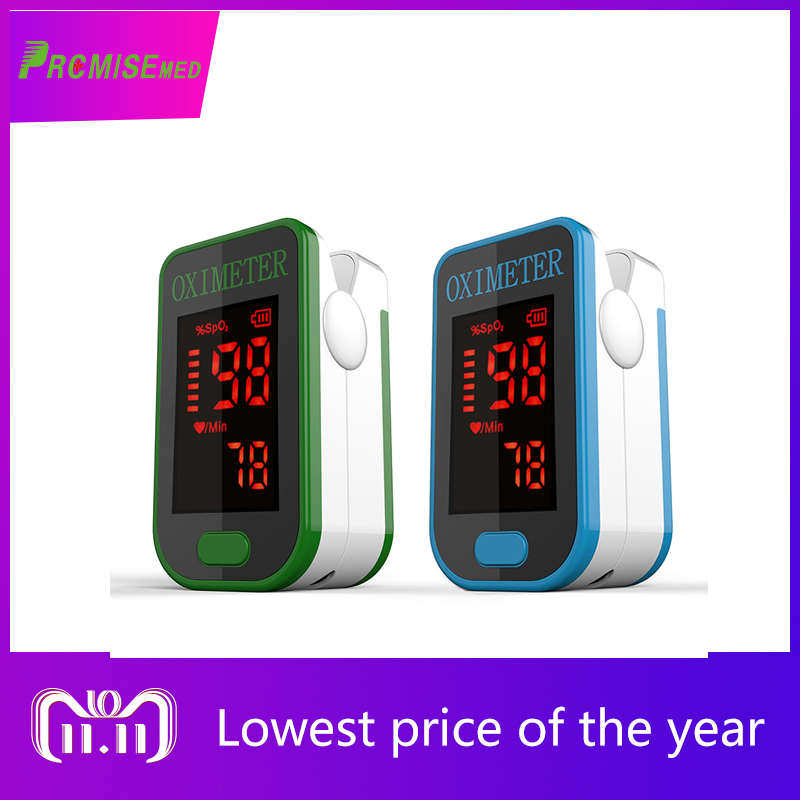 PRO-F4 blue+green Finger Pulse Oximeter,Heart Beat At 1 Min Saturation Monitor Heart Rate Blood Oxygen SPO2 CE Approval