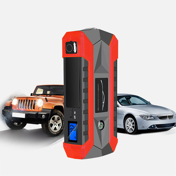 89800mAh 4 USB Super Power Car Jump Starter Power Bank Portable Car Battery Booster Charger Booster Power Bank Starting Device