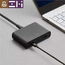Youpin ZMI chargeur de bureau 65W 3 ports PD3.0 USB 2C1A pour Android iOS commutateur PD 3.0 QC sortie intelligente Max Solo c1 65w c2 1