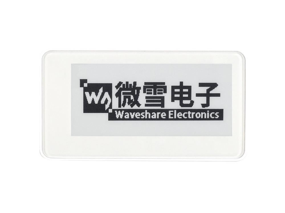 Waveshare 2.9inch Passive NFC-Powered E-Paper, No Battery, Wireless Powering & Data Transfer