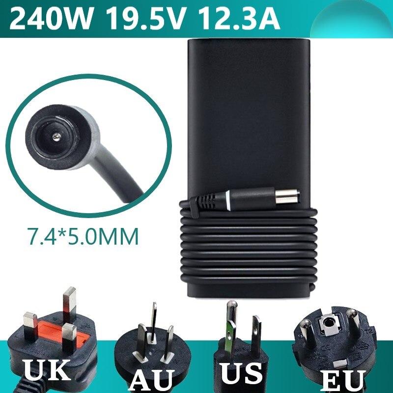 19,5 V 12.3A 240W Мощность Зарядное устройство адаптер переменного тока для Dell Alienware M17x M18X R2 X51 M4700 M6700 M6800 J938H J211H GA240PE1-00