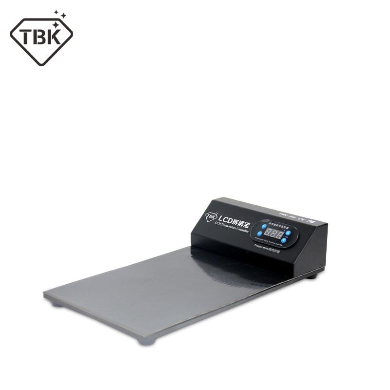 TBK 568 tela lcd aberto separado máquina
