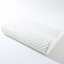 Bow memory pillow slow rebound high and low pillow space pillow pressure foam high and low pillow special pillow core