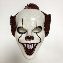 Фильм Стивен Кинг это Джокер маска пеннивайза полное лицо ужас клоун косплей маска на Хэллоуин вечеринку костюм реквизит