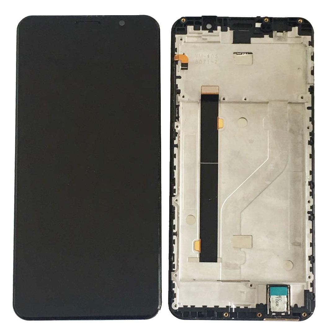 Met/Geen Frame Originele 5.99 Voor Cubot Power Lcd scherm + Touch screen Sensor Digitizer Vergadering Blauw met Gereedschap Tape - 6